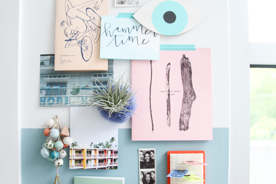 Pastel Inspiration Board
