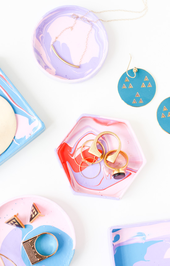 21 Budget-Friendly Mother's Day DIYs to Try Before Sunday // Idea No 18: Mini DIY Ring Dishes
