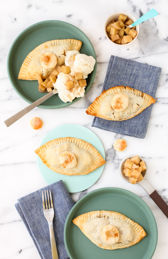 Recipe // Mini Eye Apple Hand Pies for National Apple Pie Day