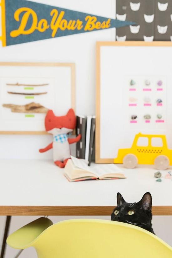 Behind the Scenes // Photobombing Cat