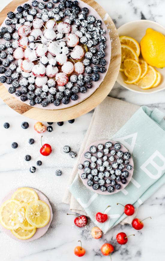 No-Bake Blueberry Cheesecake Recipe