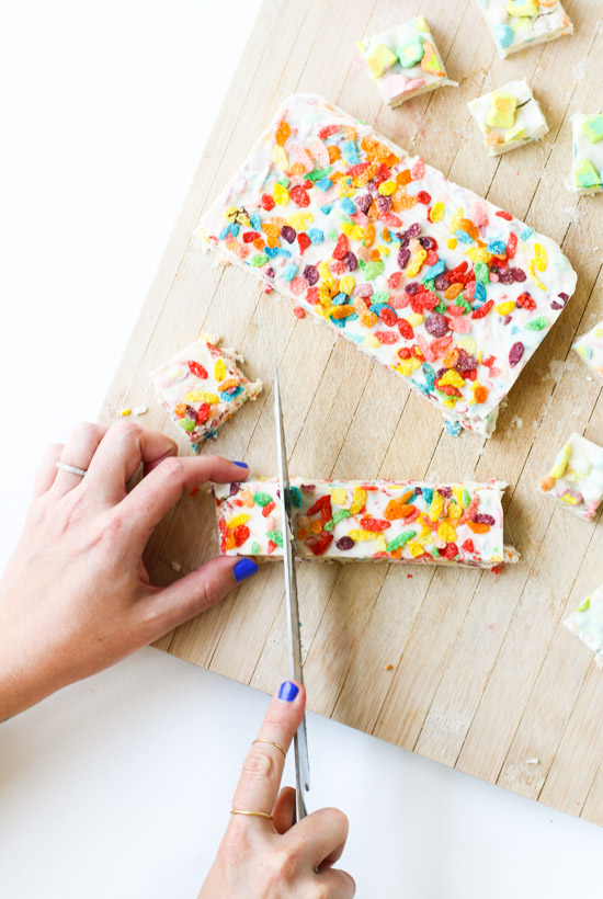 Recipe // How to Make Homemade Fudge with Breakfast Cereal