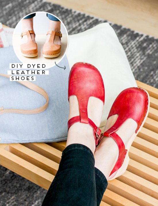 DIY // How to Dye Leather Shoes Like a Pro