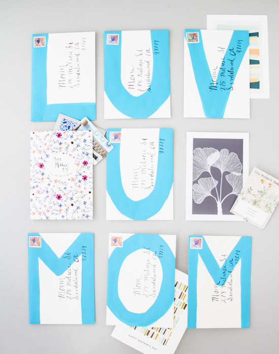 21 Budget-Friendly Mother's Day DIYs to Try Before Sunday // Idea No 15: Snail Mail Message