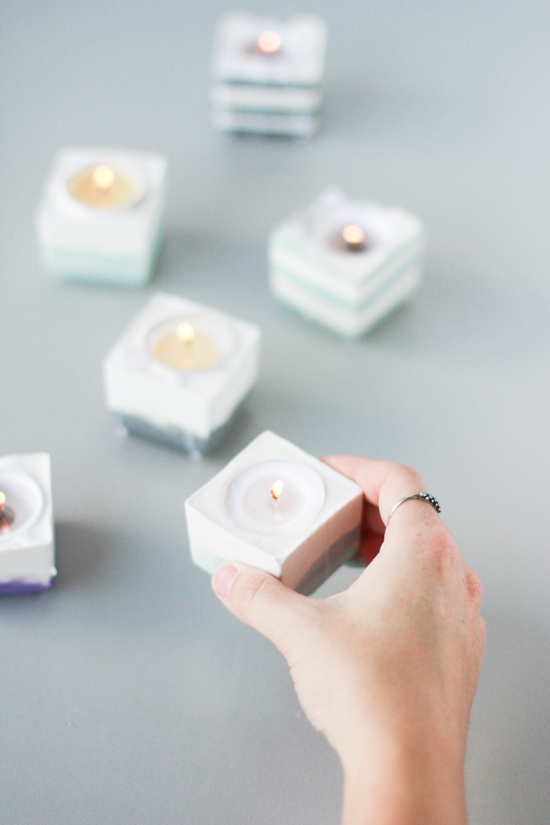 21 Budget-Friendly Mother's Day DIYs to Try Before Sunday // Idea No 11: Votives