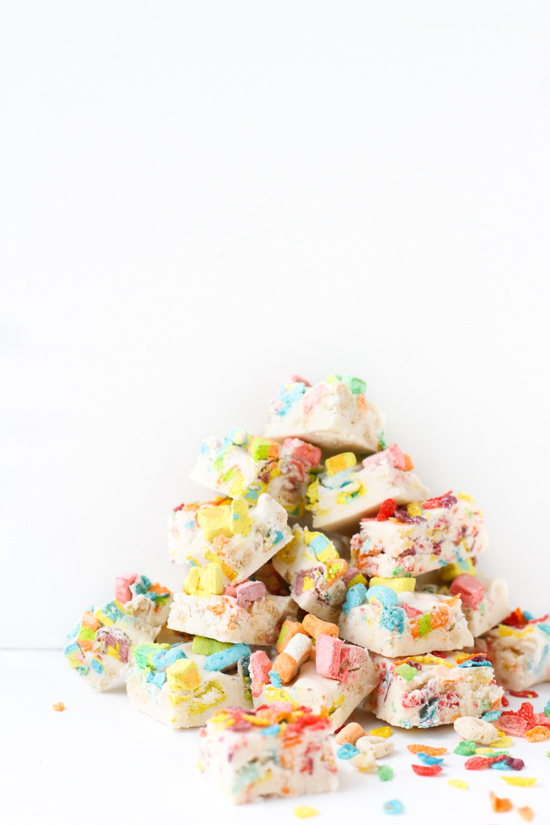 Recipe // Breakfast Cereal Fudge from Scratch