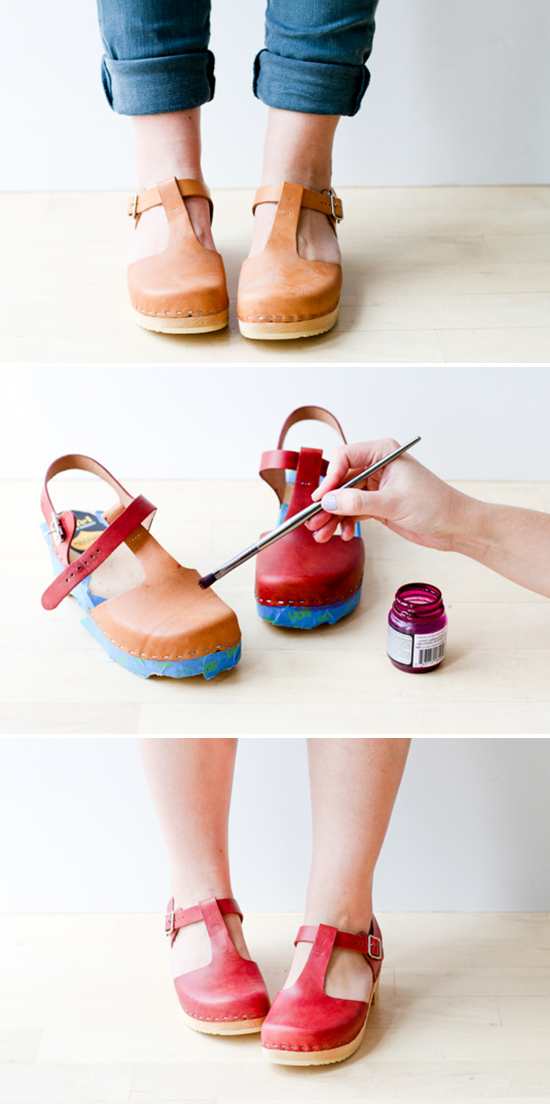 Shoe Win  How to Dye Leather Shoes Like a Pro - Paper and Stitch e535491f9b