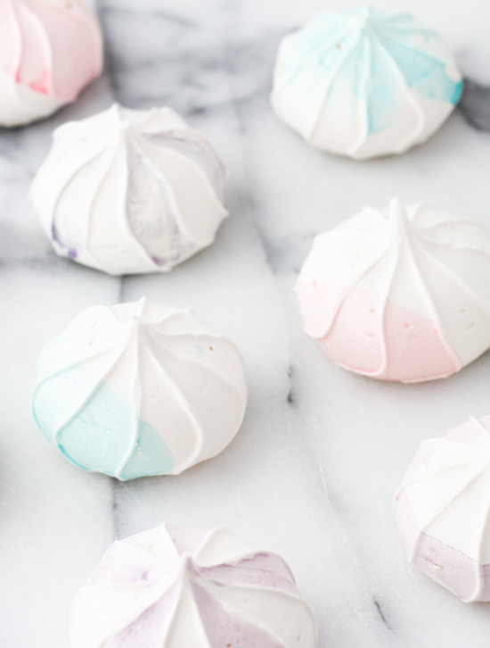 21 Budget-Friendly Mother's Day DIYs to Try Before Sunday // Idea No 13: Watercolor Meringues