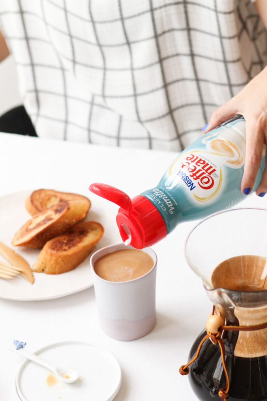 Breakfast with Coffee-Mate