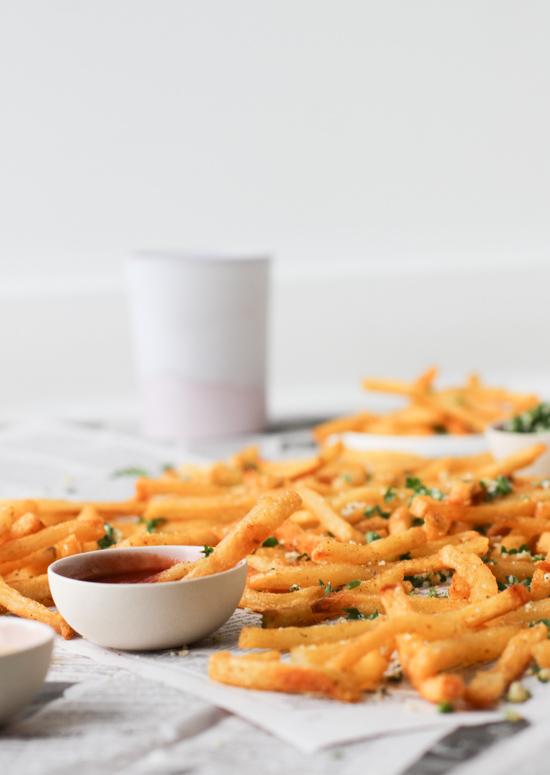 Lemon Herb French Fries
