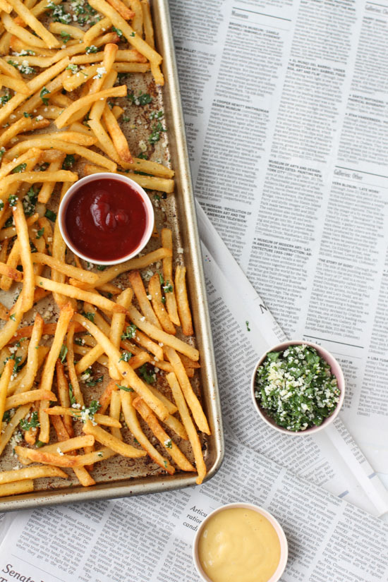 Recipe // Lemon and Herb French Fries