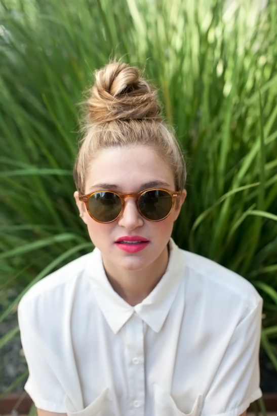 The Perfect Messy Bun for Summer