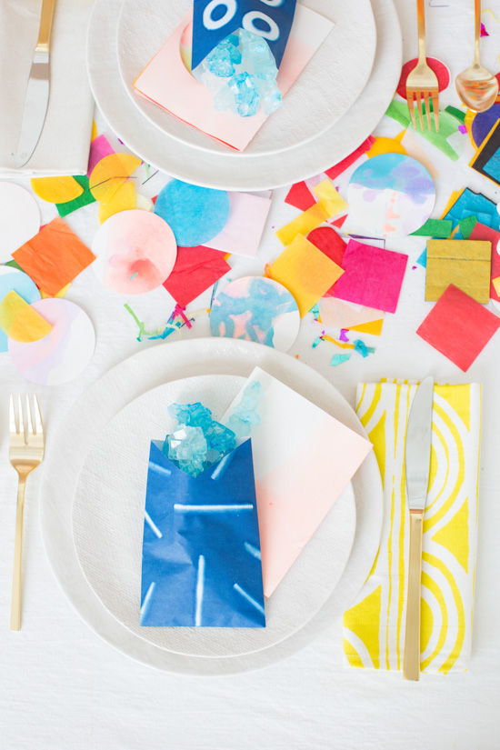 Colorful DIY Party Ideas