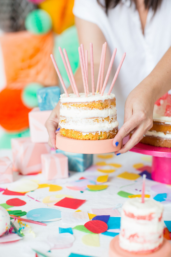 DIY Naked Cakes for Parties and Beyond