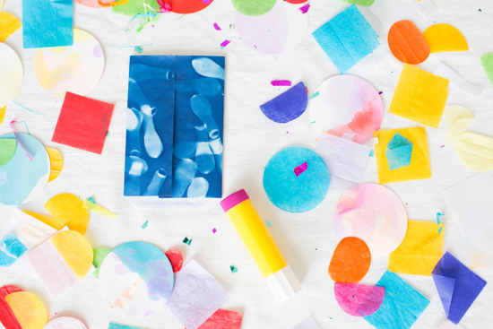 How to Make DIY Sunprint Party Favor Bags