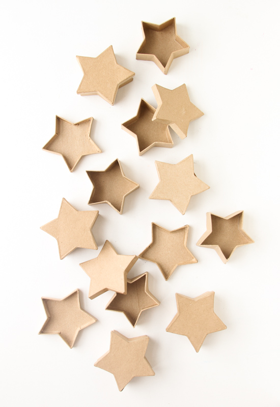 Seeing Stars: How To Make Concrete Star Shaped Votives for July 4th