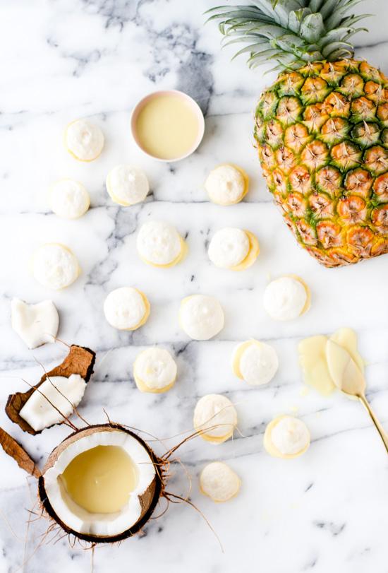 Piña Colada Dessert Bites