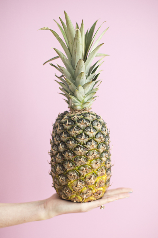 Pink + pineapple