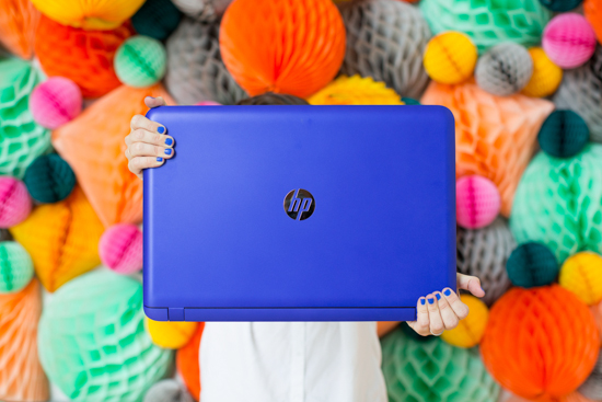 Colorful HP Pavillon Notebook