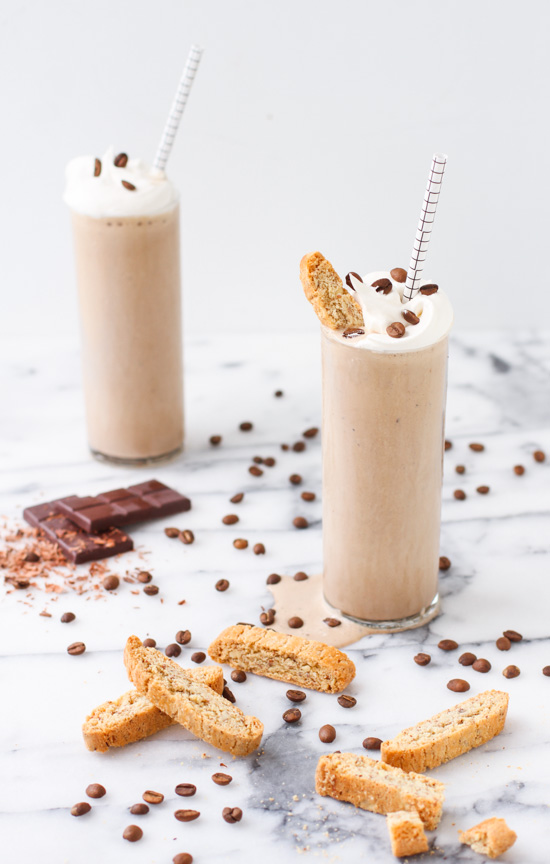 The Best Coffee Milkshake Recipe Made with Homemade Coffee Ice Cream