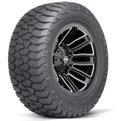 AMP Tires Terrain Attack A/T A Light Truck/SUV All Terrain/Mud Terrain Hybrid Tire - 33x12.50R22LT 121R 10 Ply