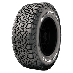 BFGoodrich Tires All Terrain T/A KO2 Light Truck/SUV All Terrain/Mud Terrain Hybrid Tire - LT245/75R17 121S 10 Ply