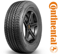 Continental Tires ProContact GX Passenger All Season Tire - 245/45R19XL 102H