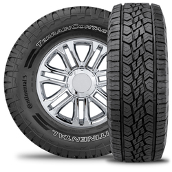 Continental Tires Terrain Contact A/T - LT245/70R17 119/116S 10 Ply