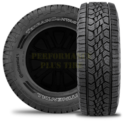 Continental Tires Terrain Contact A/T Light Truck/SUV Highway All Season Tire - LT265/70R17 121/118S 10 Ply