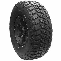 Delium Tires Terra Raider KU-255 Light Truck/SUV Mud Terrain Tire - 37x13.50R22LT 123Q 10 Ply
