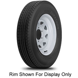 Durun Tires ST Radial Trailer Tire - ST205/75R14 100/96L 6 Ply
