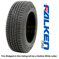 Falken Tires Wildpeak H/T Passenger All Season Tire - LT265/70R17 121/118S 10 Ply