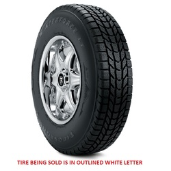Firestone Tires Winterforce LT - LT245/70R17 119R 10 Ply