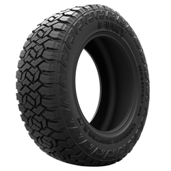 Fury Tires Country Hunter R/T Light Truck/SUV All Terrain/Mud Terrain Hybrid Tire - LT285/55R20 122Q 10 Ply