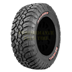 General Tires Grabber X3 Light Truck/SUV All Terrain/Mud Terrain Hybrid Tire - LT265/70R17 121/118Q 10 Ply
