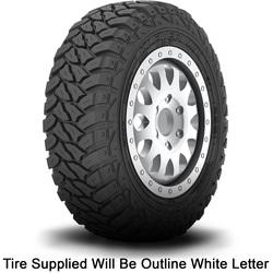 Kenda Tires Klever M/T KR29 - LT225/75R16 110/107Q 8 Ply