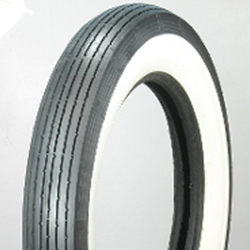 Lucas Tires Whitewall Classic / Vintage / Military Tire