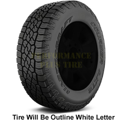 Mastercraft Tires Courser AXT 2 Light Truck/SUV Highway All Season Tire - 245/70R16 107T