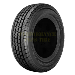Mastercraft Tires Courser HXT Light Truck/SUV Highway All Season Tire - LT245/75R17 121/118S 10 Ply