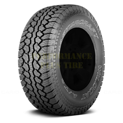 Mastercraft Tires Wildcat A/T2 Light Truck/SUV Highway All Season Tire - LT265/70R17 10 Ply