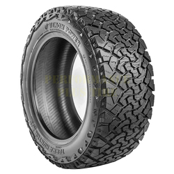 Venom Power Tires Terra Hunter XT Light Truck/SUV All Terrain/Mud Terrain Hybrid Tire - 33x12.50R22LT 109R 10 Ply