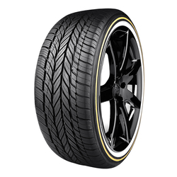 Vogue Tyre Tires Custom Built Radial VIII Tire - P245/40R18XL 97V