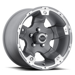 Black Rock Wheels 900S Viper - Silver Rim