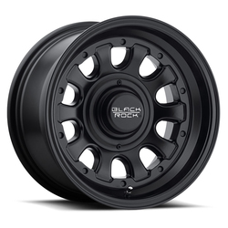 Black Rock Wheels 909B Type D - Matte Black