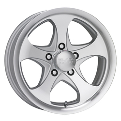 Black Rock Wheels 921MS Intrepid - Silver Rim