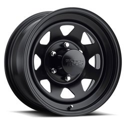 Black Rock Wheels 929 Black Jack - Matte Black