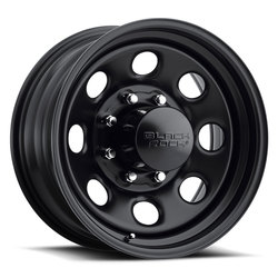 Black Rock Wheels 997 Type 8 - Matte Black Rim