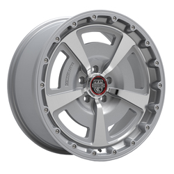 Centerline Wheels 631MS MM2 - Gloss Silver with Machined Face