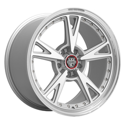 Centerline Wheels 632MS MM3 - Gloss Silver with Machined Face