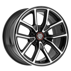 Centerline Wheels 633MB MM4 - Mirror Machined with Gloss Black Accents